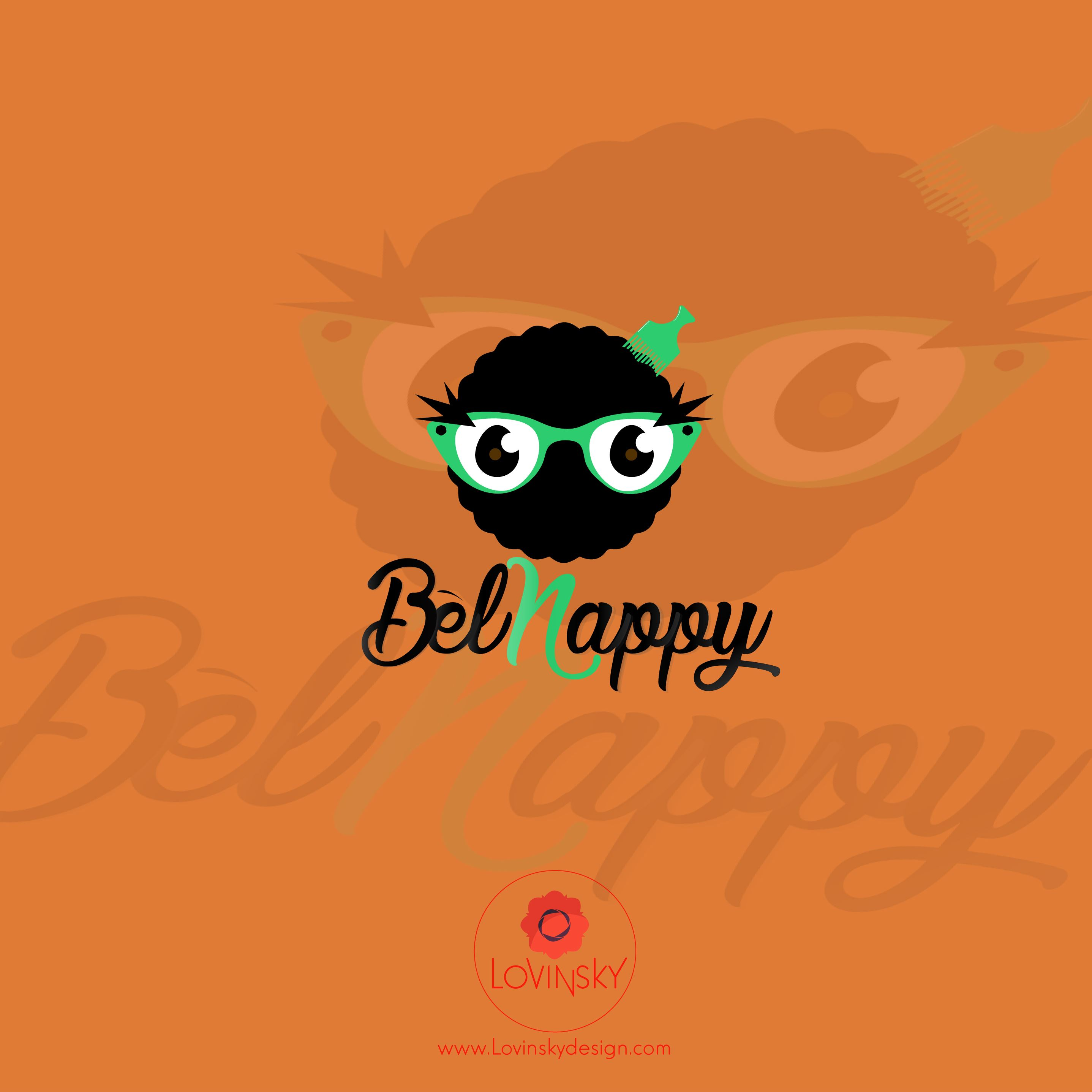 bel-nappy logo lovinsky graphiste webdesigner freelance nantes 44