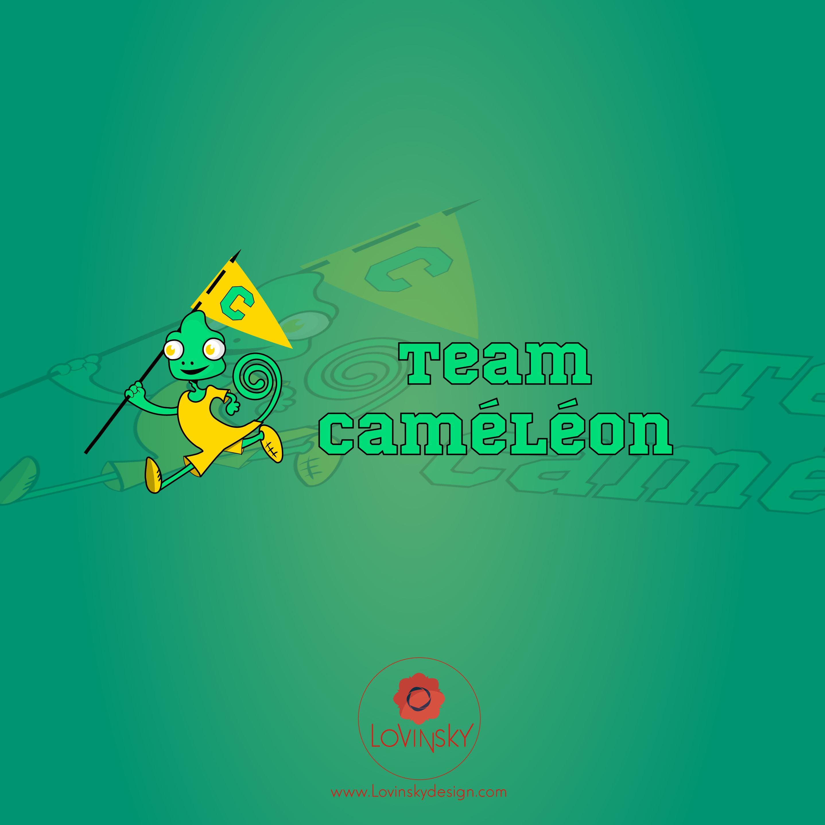 caméléon logo lovinsky graphiste webdesigner freelance nantes 44