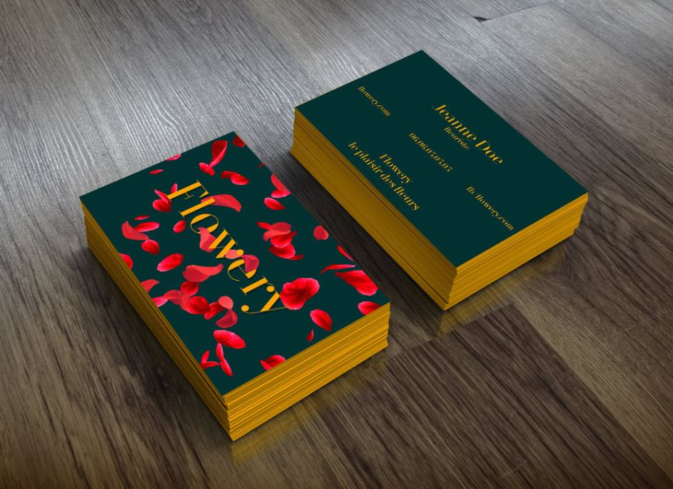 carte-de-visite-flowery lovinsky graphiste webdesigner freelance nantes 44
