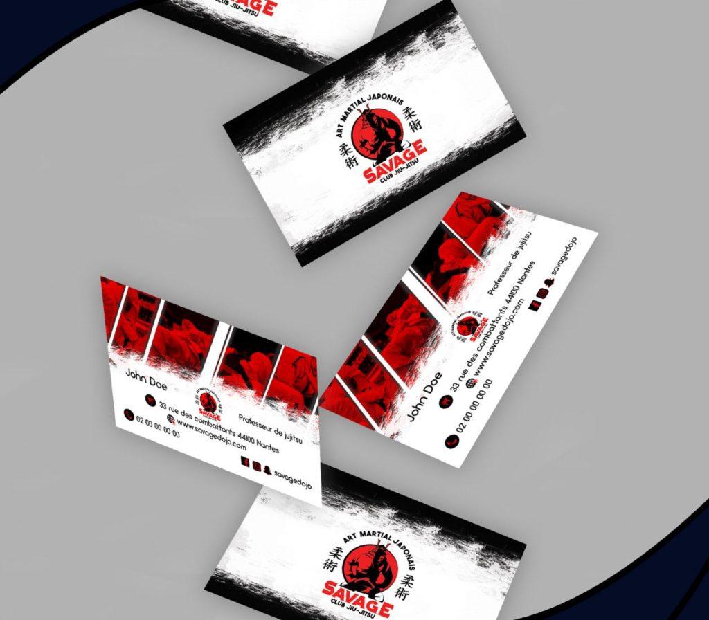 carte-de-visite-ju-jitsu3 lovinsky graphiste webdesigner freelance nantes 44