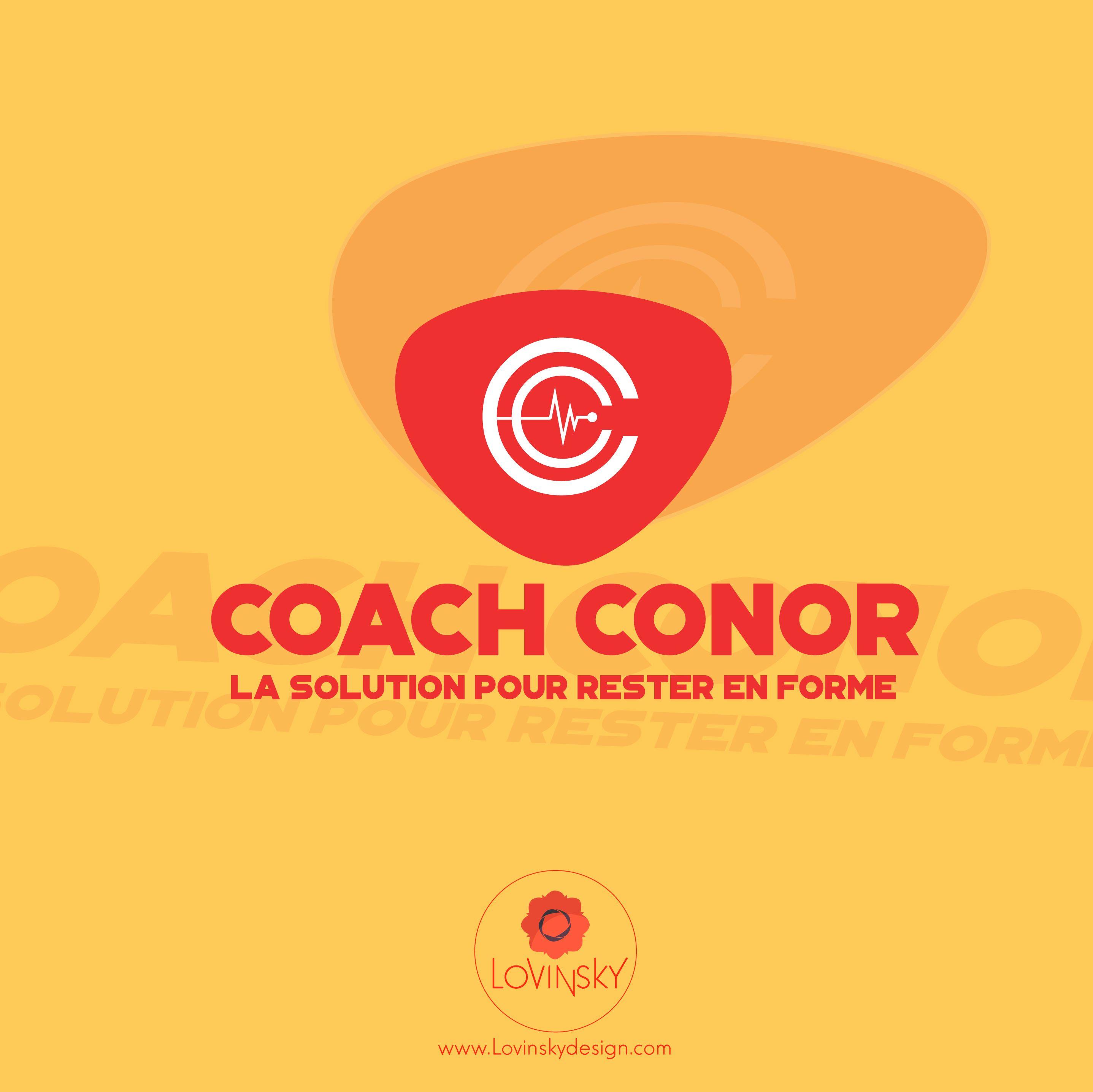 coach-conor logo lovinsky graphiste webdesigner freelance nantes 44