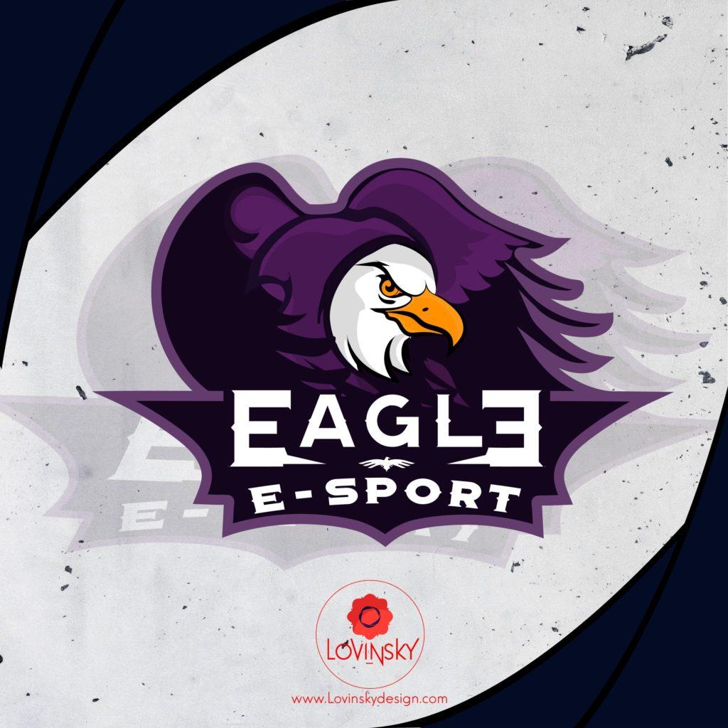 eagle-logo-v2lovinsky freelance graphiste webdesigner nantes 44