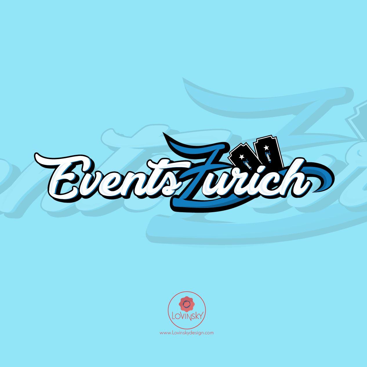 events-zurich logo lovinsky graphiste webdesigner freelance nantes 44