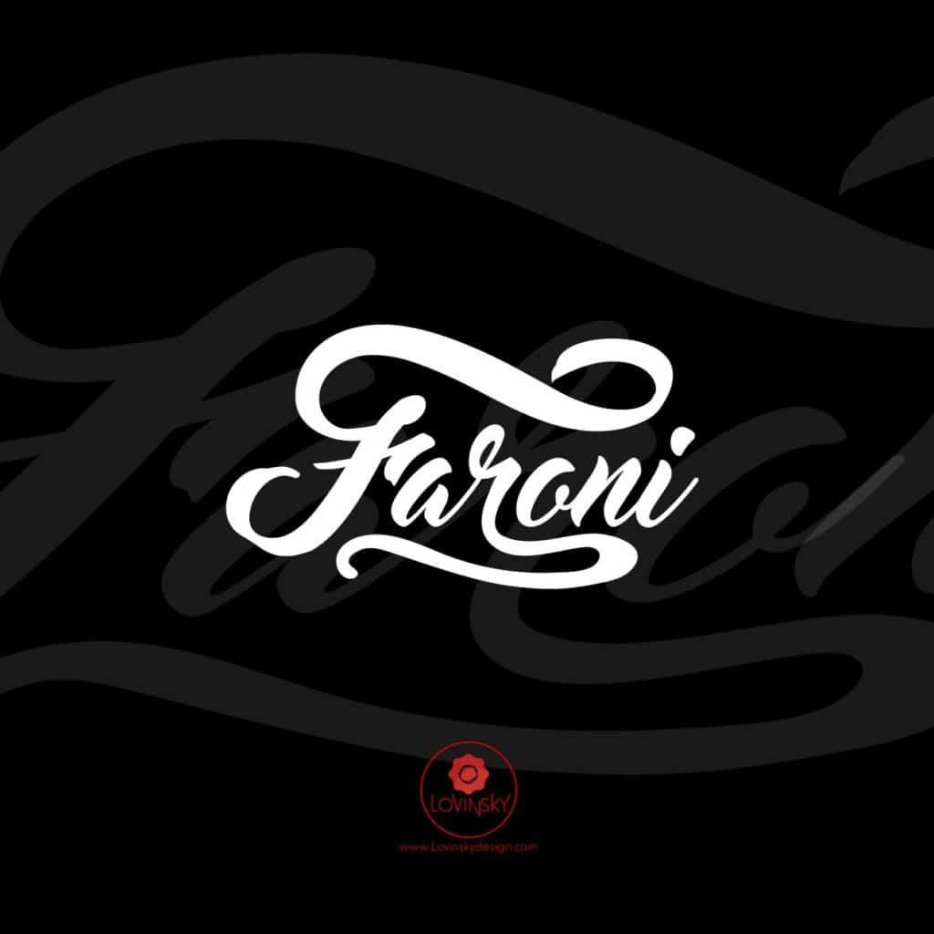 faroni-music-DJlovinsky freelance graphiste webdesigner nantes 44