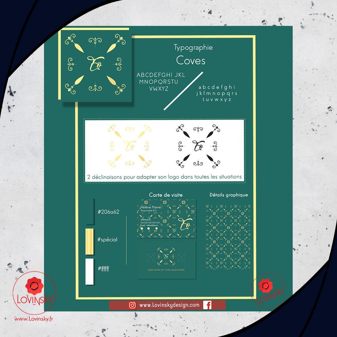 identité-visuelle-eo cosmétique produit nantes lovinsky design graphiste webdesigner nantes