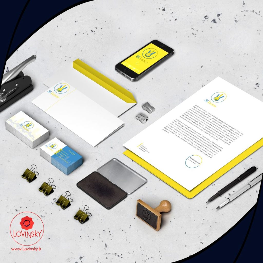 identité visuelle immobilier nantes lovinsky design graphiste web designer 44