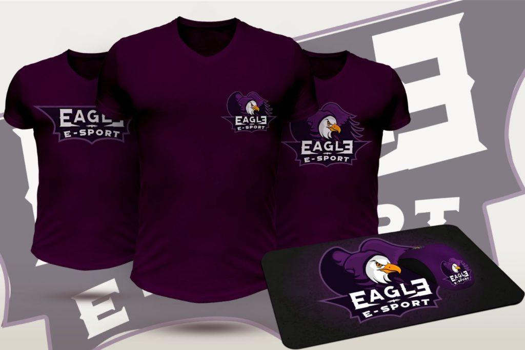 identité-visuelle--t-shirt-eagle lovinsky freelance graphiste webdesigner nantes 44