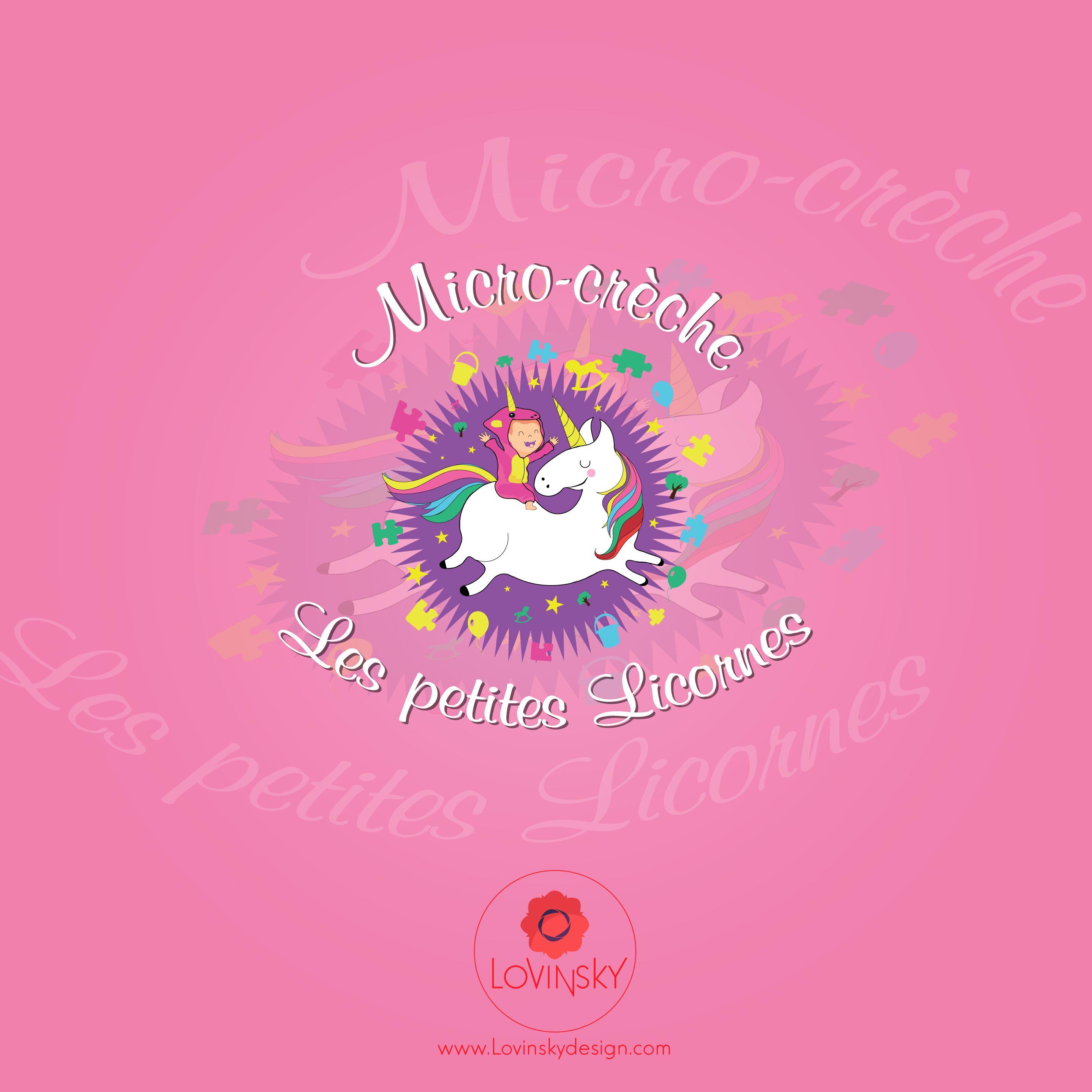 les-petites-licornes logo lovinsky graphiste webdesigner freelance nantes 44