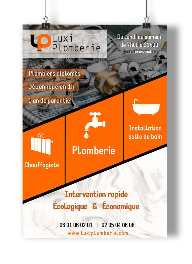 luxi-plombier-mockup lovinsky graphiste webdesigner freelance nantes 44