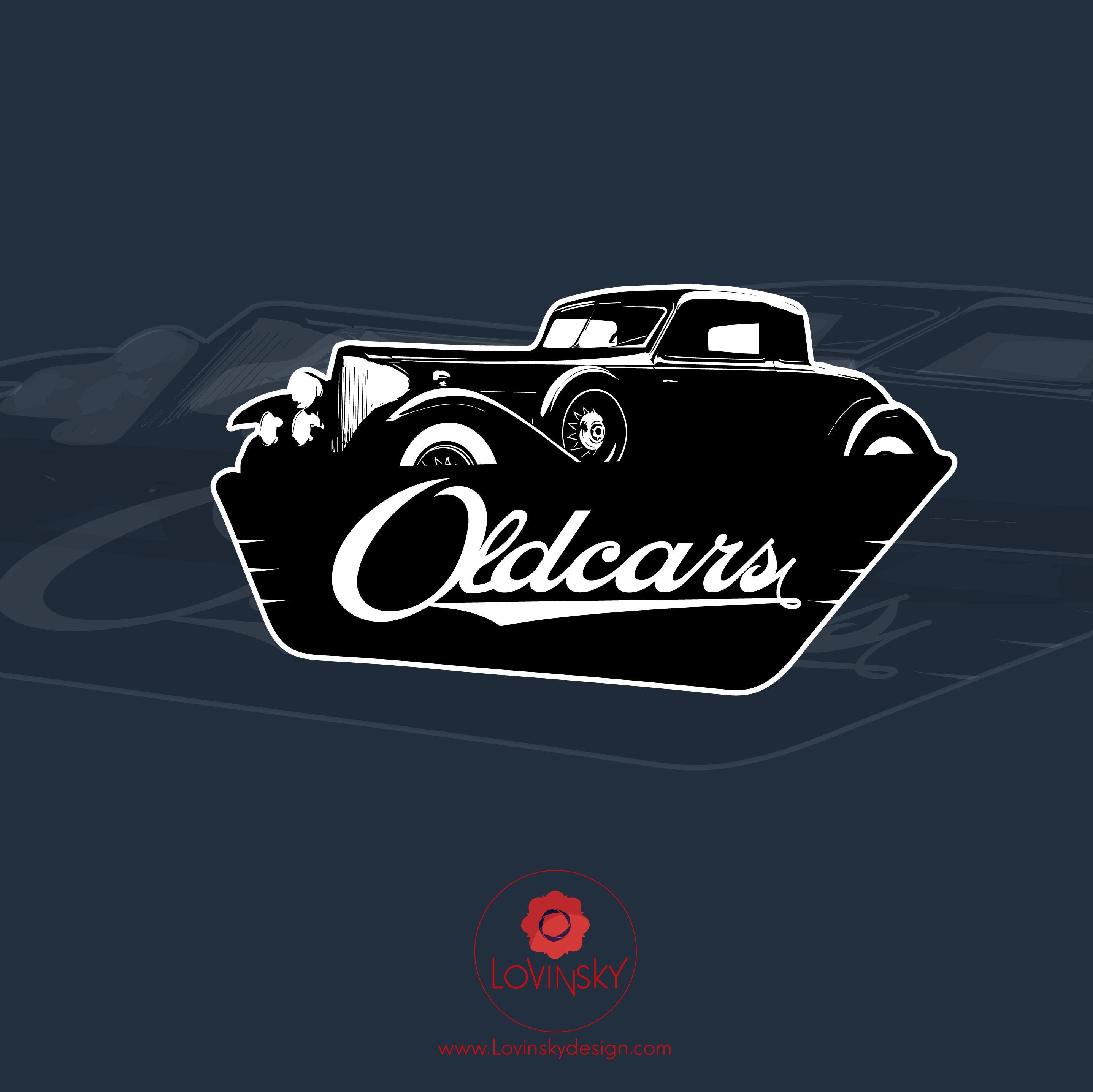 old-cars logo lovinsky graphiste webdesigner freelance nantes 44