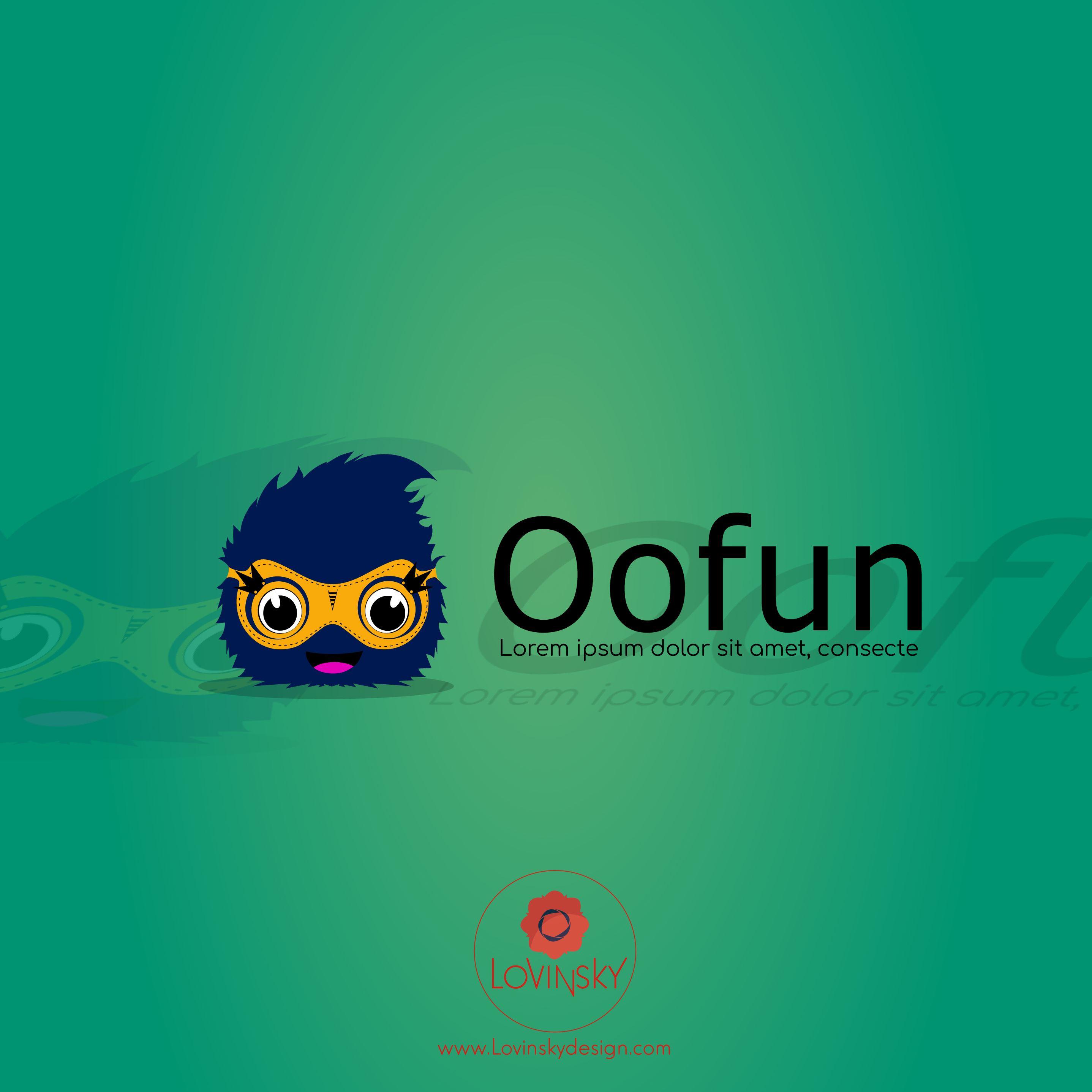 oofun logo lovinsky graphiste webdesigner freelance nantes 44