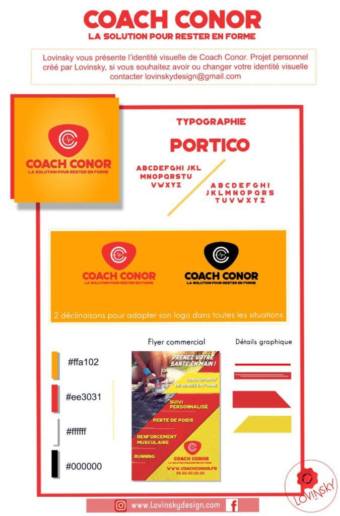 presentation-coach-conor-identité-visuelle lovinsky freelance graphiste webdesigner nantes 44
