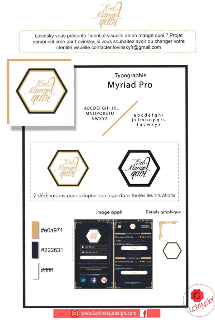 presentation-facebook-on-mange-quoi logo lovinsky graphiste webdesigner freelance nantes 44