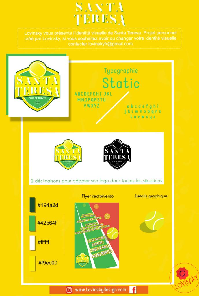 presentation-facebook-tennis-santa-teresa lovinsky graphiste webdesigner freelance nantes 44