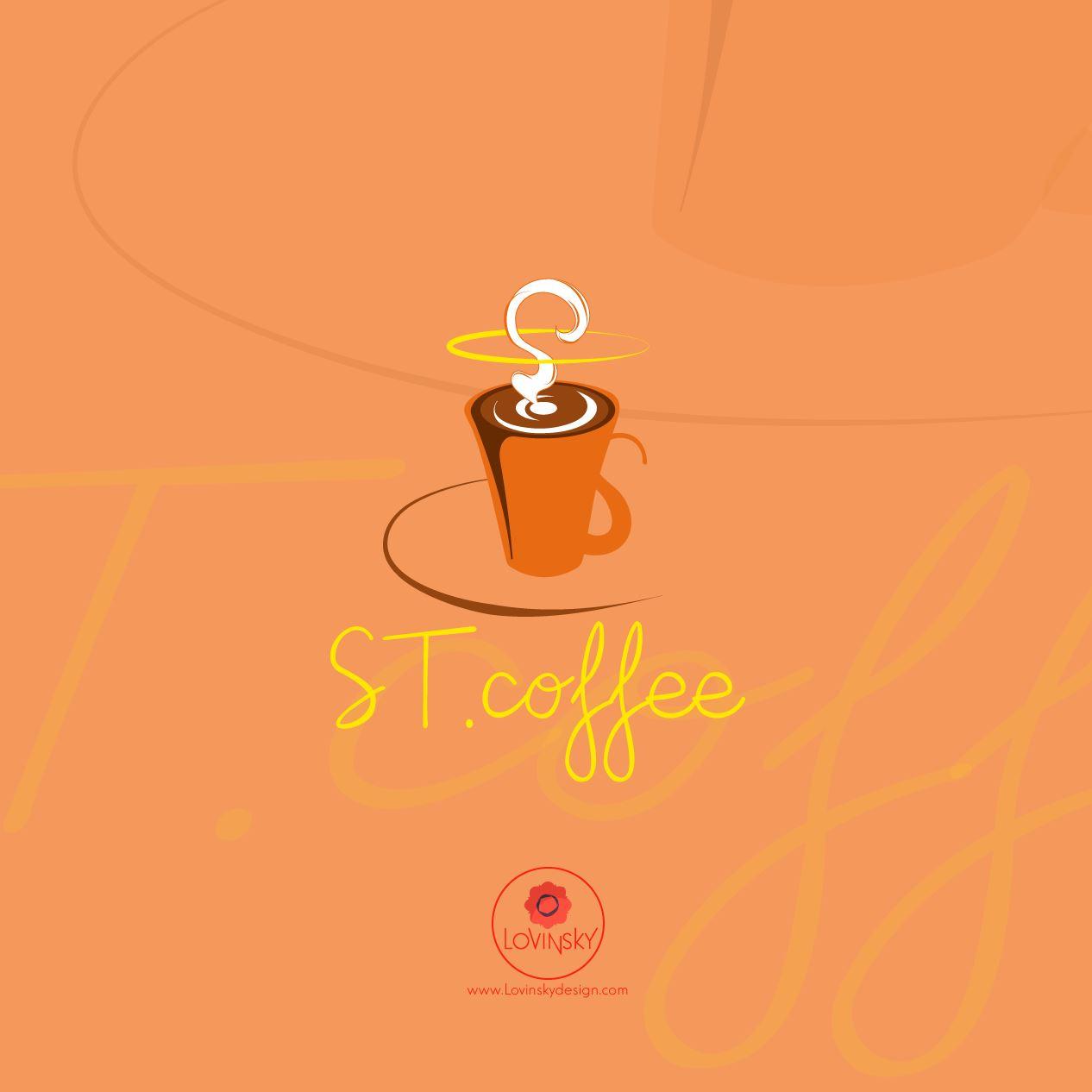 st-coffee logo lovinsky graphiste webdesigner freelance nantes 44