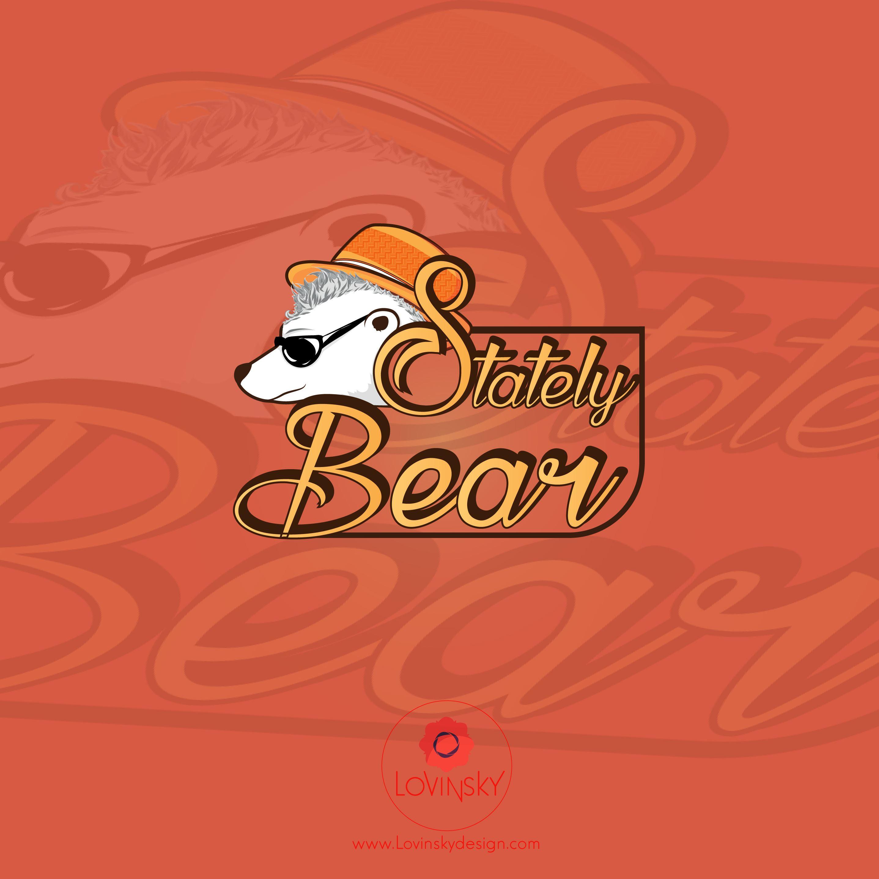 stately-bear logo lovinsky graphiste webdesigner freelance nantes 44