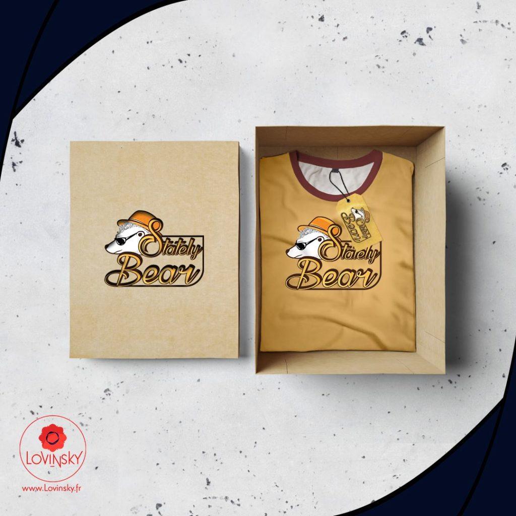 t-shirt-bear-achat lovinsky graphiste webdesigner nantes 44200