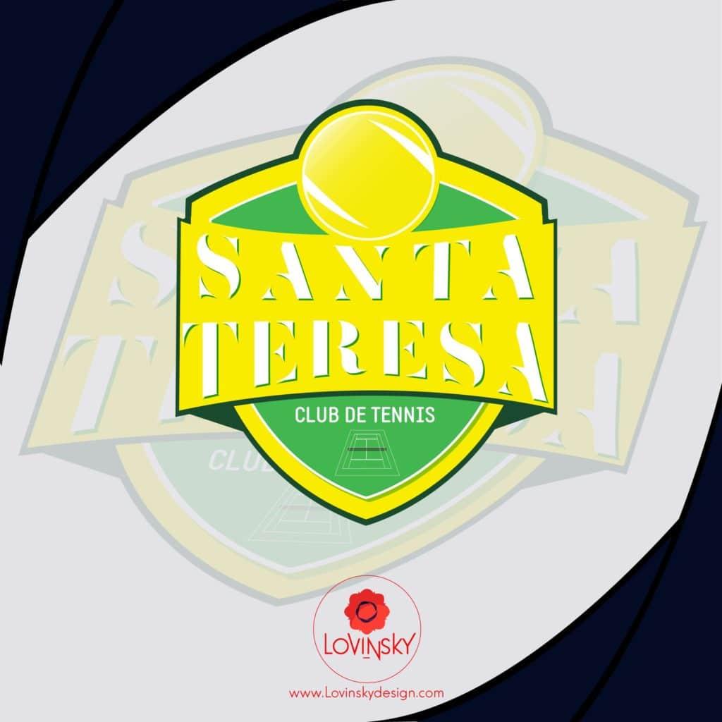 tennis-santa-teressalovinsky freelance graphiste webdesigner nantes 44