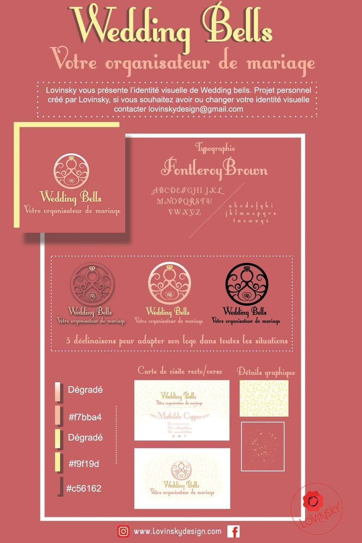 identité visuelle wedding logo lovinsky graphiste webdesigner freelance nantes 44