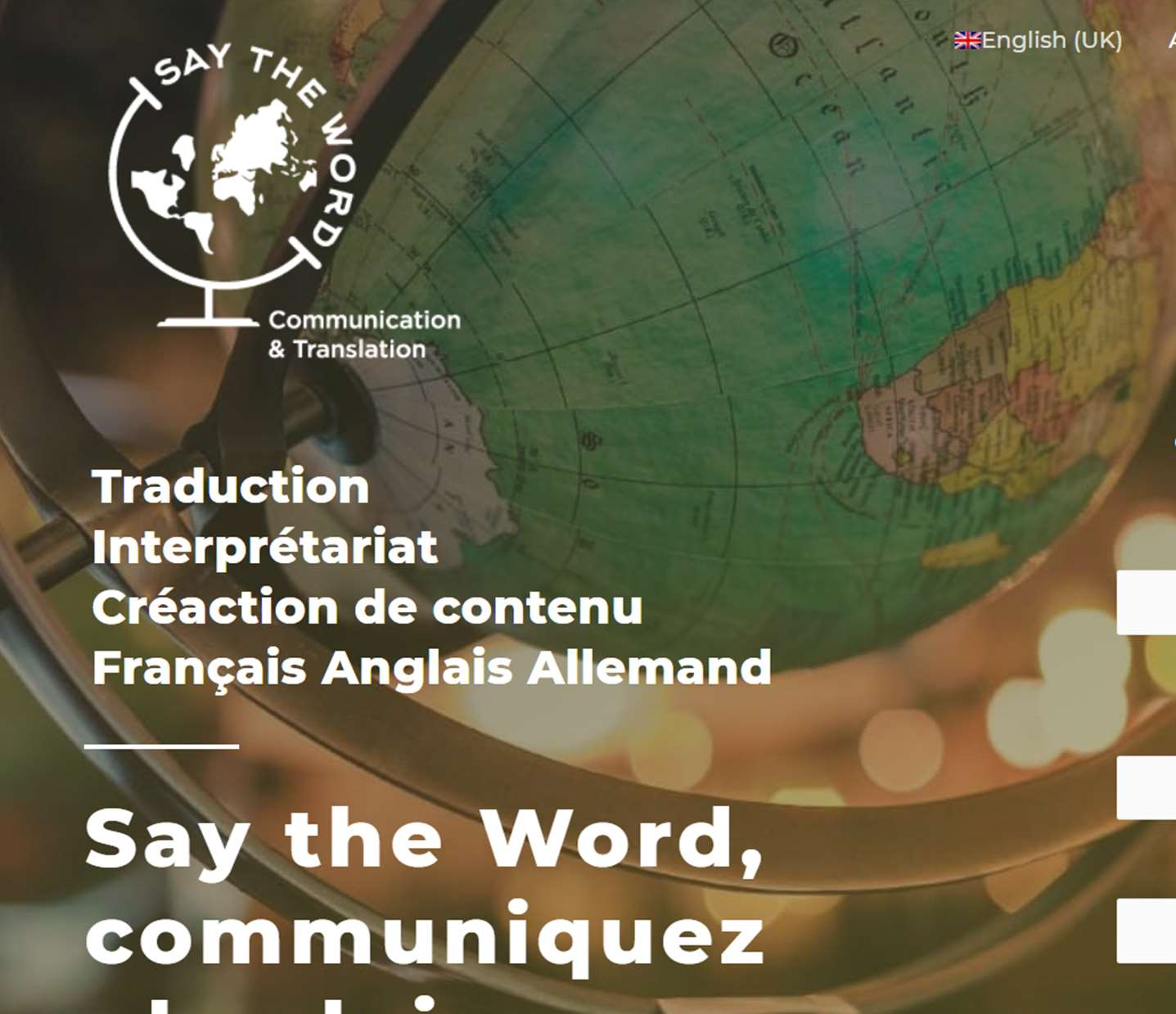 say-my-name traductrice site internet fait par lovinsky webdesigner nantes