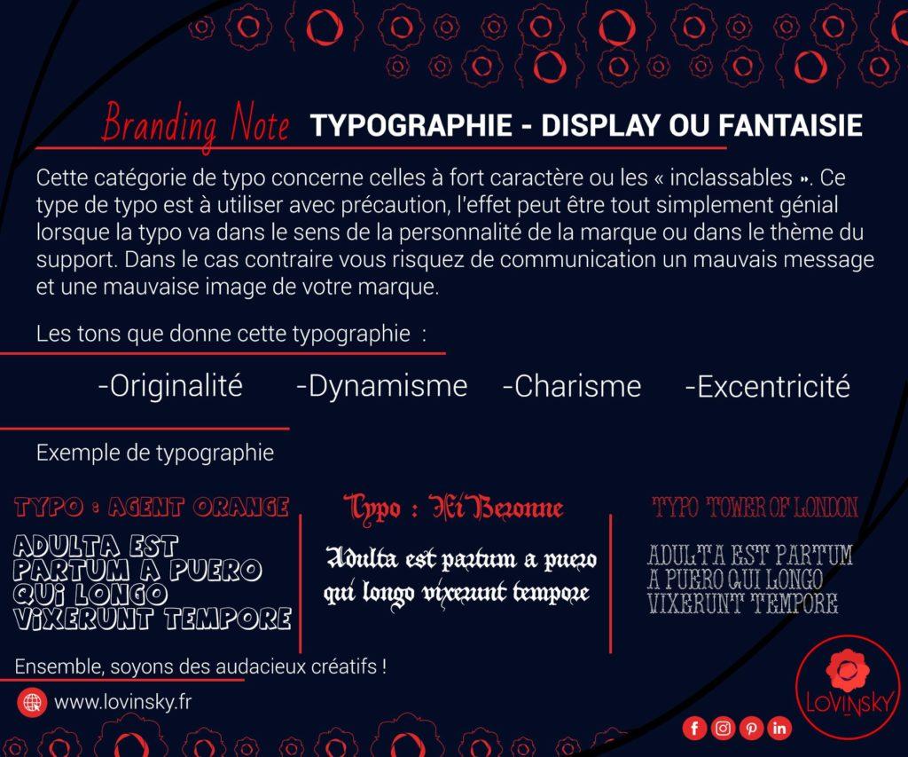 typographie-Display-ou-fantaisie branding note par lovinsky graphiste webdesigner à nantes en freelance