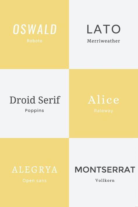 typographie atelier337 bonne combinaison