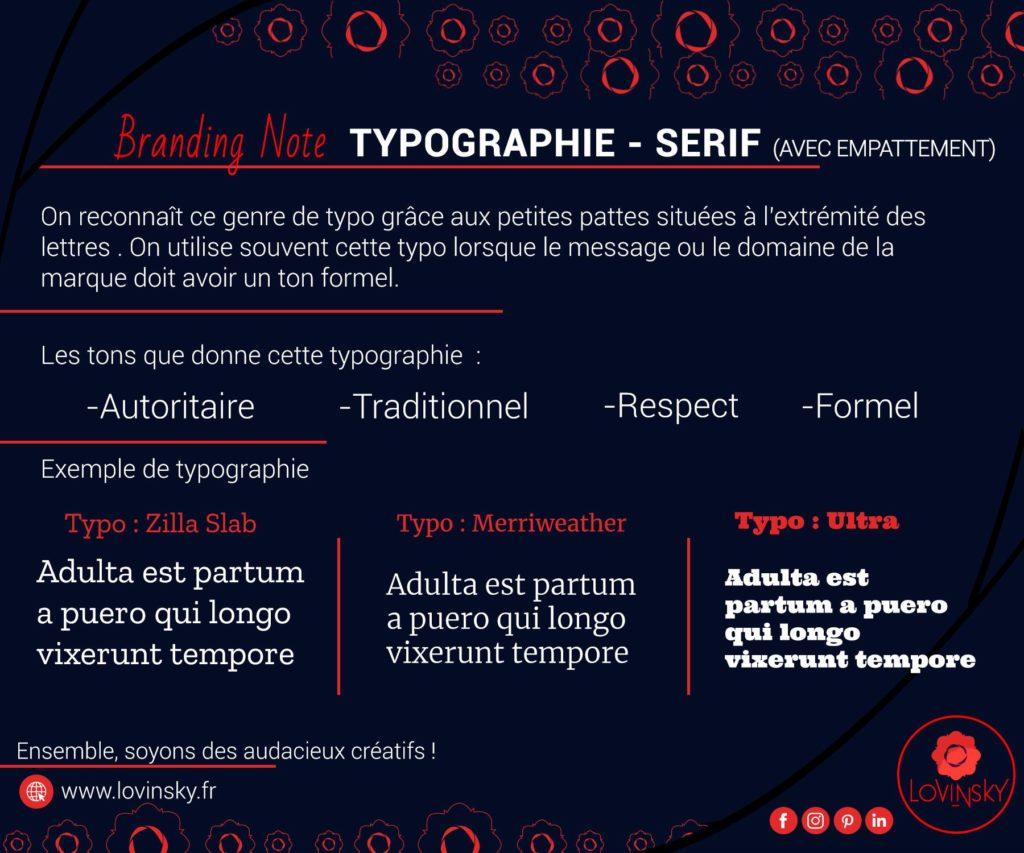 typographie-sérif-avec-empattement branding note par lovinsky graphiste webdesigner à nantes en consulting