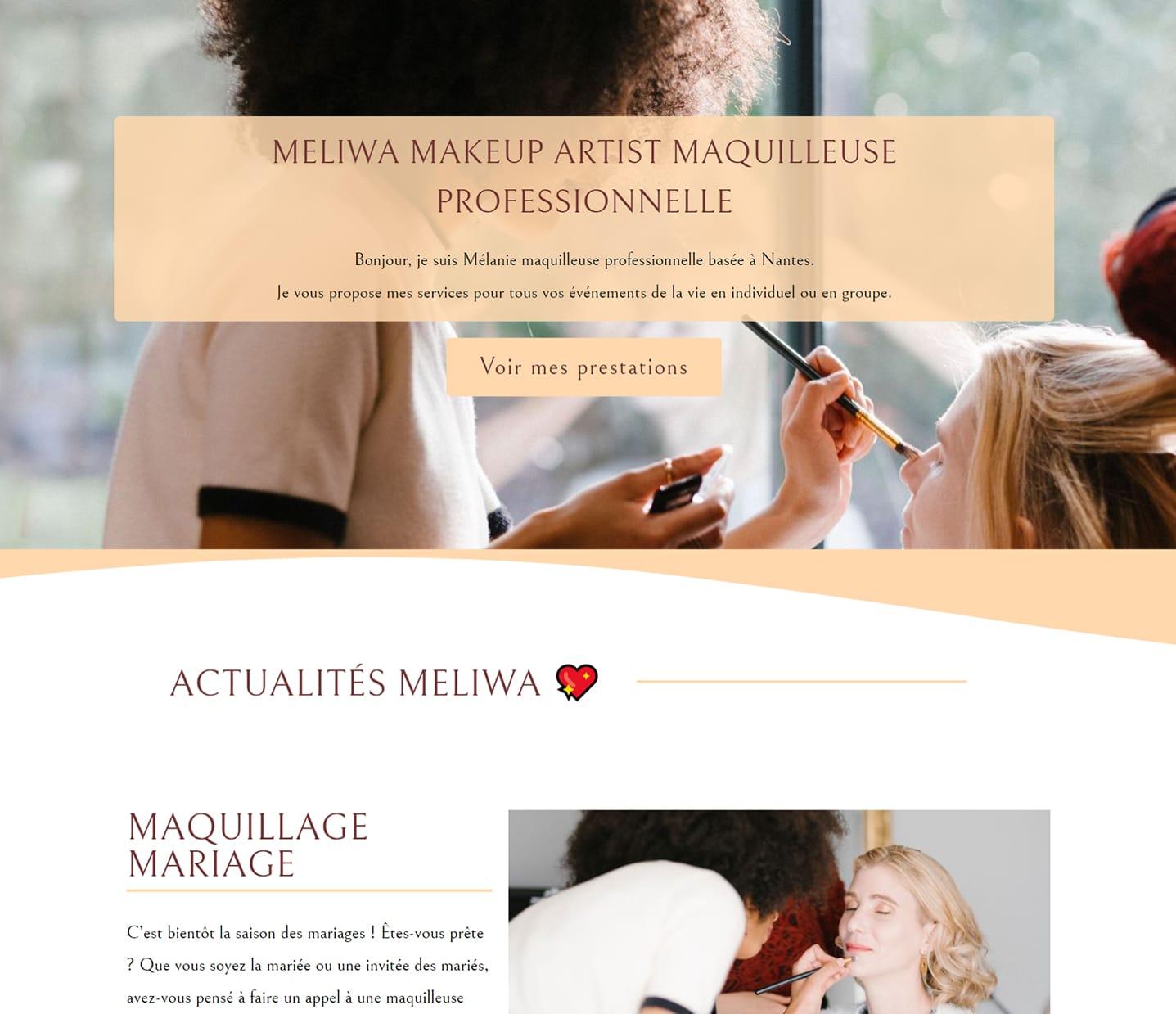 site-internet-meliwa-make-up-artist-nantes-site-maquilleuse-à-nantes-lovinsky-graphiste-webdesigner