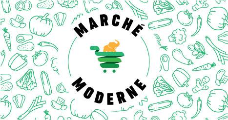 Logo marché