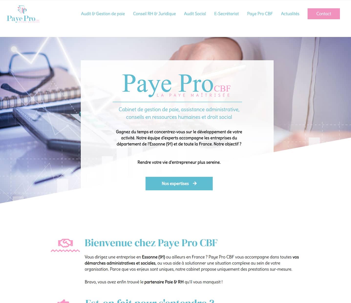 site gestion de paye